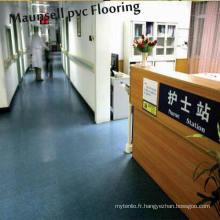 L'Hôpital de roulement en PVC et le sol médical de chauffage chaud en 2017 les plus bon marché en Chine