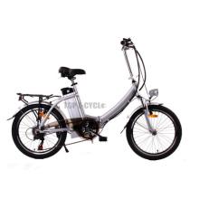 Venta caliente 36V 10Ah China pequeña bicicleta eléctrica plegable