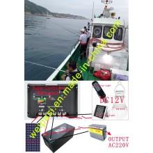 Retrofit Fishing boat solar energy, Solar Panel+Solar Marine light+Floating Light+Solar Batteries