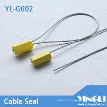 Puxe as vedações de cabo apertadas com laser ou impressões a quente