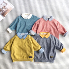 P18B16TR children's boy's 100% cotton sweater