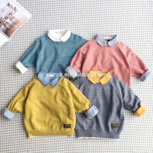 Suéter de algodão 100% infantil para menino P18B16TR