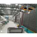 Línea de producción de doble prensado de vidrio hueco vertical