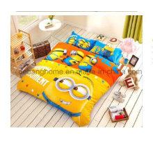 Juegos populares de ropa de cama de la historieta 4PCS casa textil