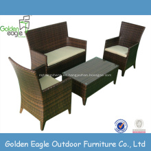 Muebles de jardín populares sillas de ratán de playa