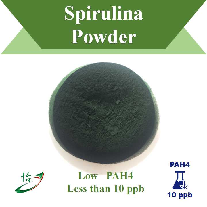 Low Pah4 Spirulina Powder
