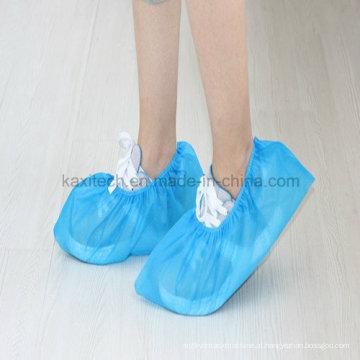 Tampa de sapato antiderrapante não tecida não descartavel