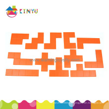 Math Jigsaw Puzzle Toys Plastic Pentominoes