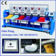 Preços de máquina de bordar comercial multi-cabeça