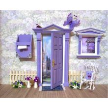 Nice Full Fairy Door Sets with 1/12