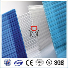 12mm/14mm/16mm multiwall polycarbonate sheet for roofing sheet
