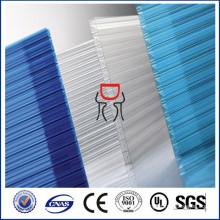 12мм/14мм/16мм поликарбоната multiwall листа для настилать крышу лист