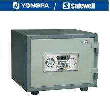 Yongfa 38cm de altura Ald Panel Electronic Fireproof Safe