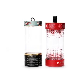 Наушники для пластиковых полупрозрачных цилиндров