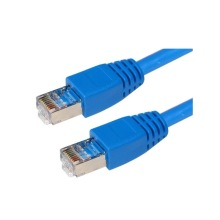 Ungeschirmtes blaues 3FT Cat5e Patchkabel