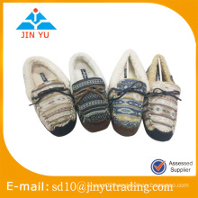 China wholesale elegant indoor winter slipper shoes for ladies