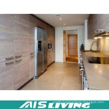 Professionals Manufacturer Melamine Kitchen Cabinets (AIS-K393)