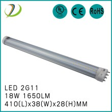 18W 2G11 tube 180degree