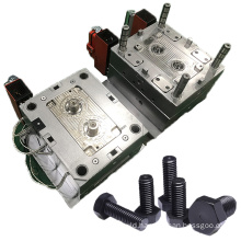 china manufacturer design custom new precision industry parts mould screw plastic injection mold