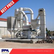 Phosphate de roche, usine de minerai de gypse d'application de minerai de fer pour l'Indonésie