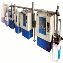 Linha de produção automática de rolos cônicos