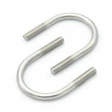 High quality hardness stainless steel 12mm m20 u bolts pipe clamp