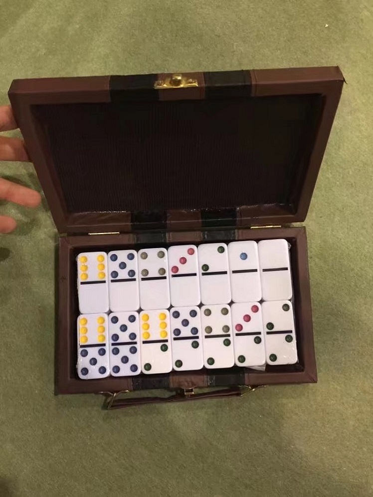 Poker Card With Dominoes Game Set