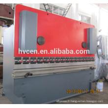 Machine de cintrage à platine hydraulique WC67Y-160T / 4000, Machine à cintrer des plaques CNC, Machine à cintrer les métaux
