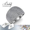 Schicksal Schmuck Kristalle von Swarovski Ring Glamour Metall-Ring
