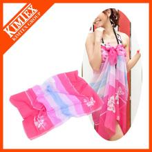 Venda Por Atacado poliéster barato praia chiffion sarong