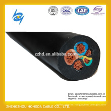 Cable eléctrico flexible de la envoltura de goma para los propósitos generales
