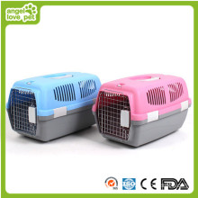 New Design Portable and Comfortable Pet Dog Carrier Cage (HN-pH430)