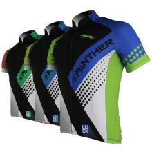 Meilleure vente cyclisme chemise cycle haut manches courtes