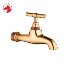 Types de robinets d'eau extérieurs polis d'or