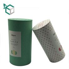 kundenspezifischer Papierrohrkaffee, der Teedose mit Logodruck verpackt