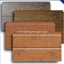 Faux wood decorative wall paneling