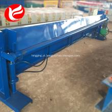 Máquina de corte hidráulica da placa da máquina da tesoura da folha de metal