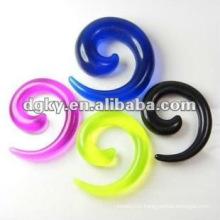Body Piercing Ear Plug Earring fake ear spiral