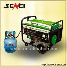 Générateur de gaz naturel de 6.5kw 14HP
