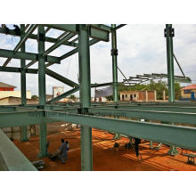 Structure Steel Fabrication for Multi-Storey Metal Frame Constructure Building