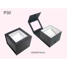 Caja de reloj de cuero de lujo de la PU Caja de embalaje del reloj al por mayor