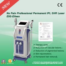 IPL Elight y Q-Switch ND YAG máquina láser para la eliminación de tatuajes