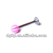 labret jewellery lip piercings fake labret ring