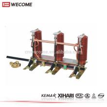 KEMA Testado de Média Tensão UNIGEAR Switchgear 24KV 1250A 25KA Interruptor de Terra