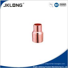 J9002 acoplamento de redução de cobre com stop cc 1 polegada de conexão de tubulação de cobre