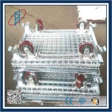 Складные складные стальные контейнеры складские