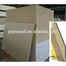 Hollow particleboard for door interior materials
