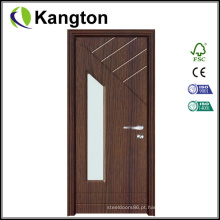 Porta interior em PVC de vidro (porta em PVC)
