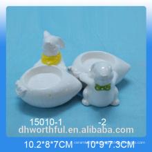 Coelho, série, ovo, copo, páscoa, decoração