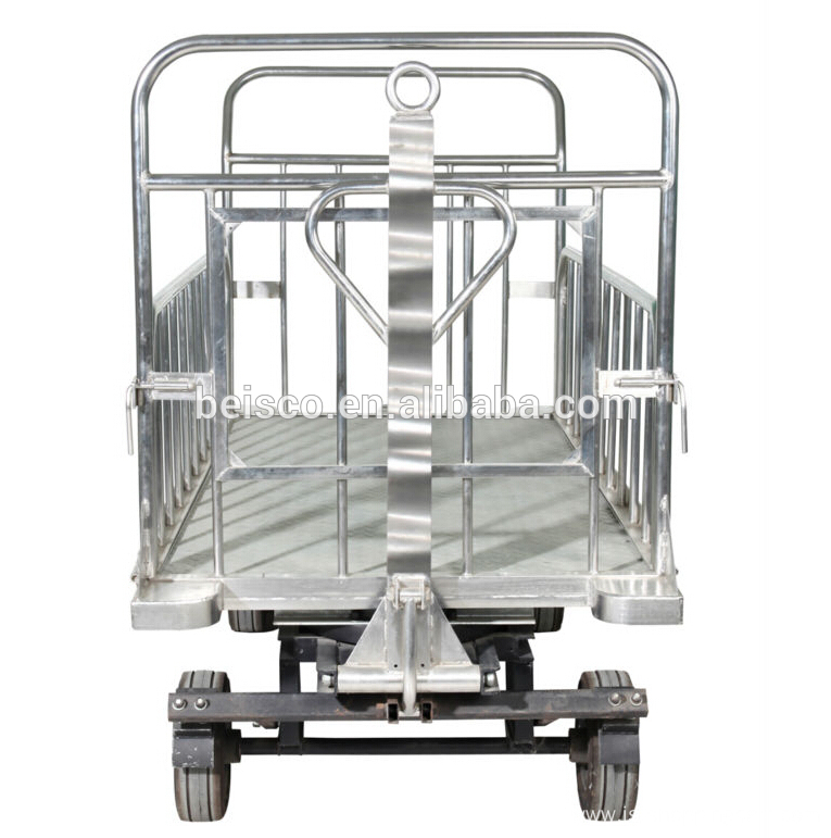 Standard airport luggage cart/airport baggage cart ...